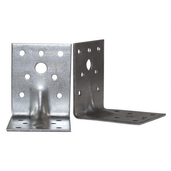 Medinių konstrukcijų tvirtinimo elementai (kampai)